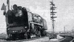 Locomotive 141 P venant du dépôt de Vénissieux