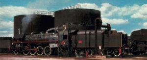 Préparation de la 141 R 1187, pour un train spécial des Chemins de fer du Vivarais.