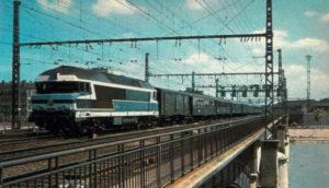 locomotive CC 72013, du dépôt de Vénissieux