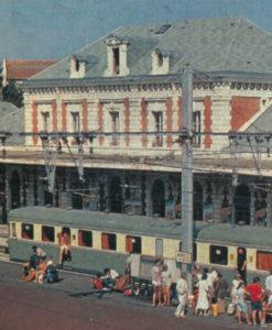 Biarritz-La Négresse en août 1981.