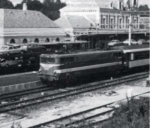 Express Nice-Irun en gare de Biarritz