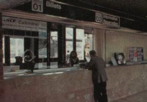 Guichets gare de Biarritz