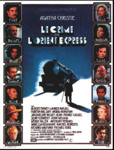 """Film """"Crime de l'Orient Express"""""""