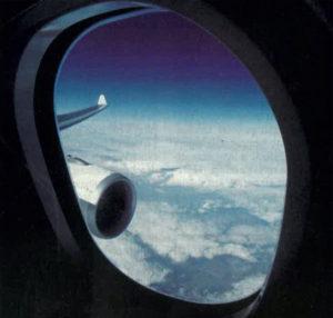 Hublot d'avion