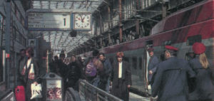 Une rame PBKA en gare de Cologne