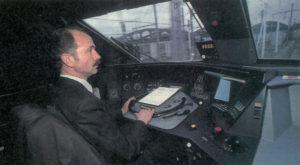 Yvon Boniface, agent de conduite chez Thalys