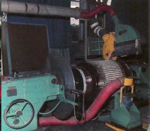 Démontage d'un indult de moteur, Atelier de la Folie, Nanterre