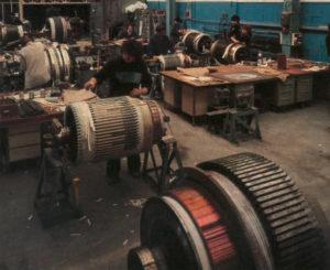 Le chantier de bobinage, Atelier de la Folie, Nanterre