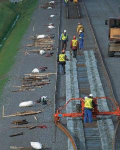 Travaux jonction TGV en Ile-de-France