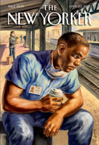 Couverture « After the shift » de The New Yorker © DR