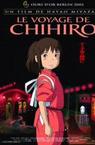 """Affiche """"Le voyage de Chihiro"""""""