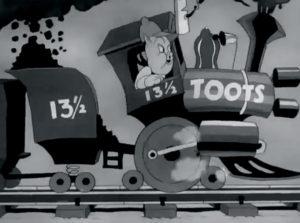 La ferrovia di Porky di Frank Tashlin. Warner Bros. Cartoons (1937).