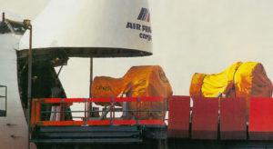Chaque compagnie aérienne dispose d'un « hub » principal. Air France a bien sûr choisi d'implanter le sien à Roissy. Un aéroport qui, chaque année, traite 900 000 tonnes de fret. © De Malglaive / Ernoult Features