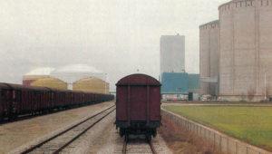 L'embranchement de l'usine Beghin-Say reste ouvert malgré la disparition des wagons isolés. © CAV/Fret SNCF