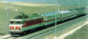Le train spécial de balayage au cours de sa dernière reconnais voie. © CAV-SNCF-M. Henri
