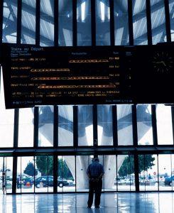 Les TGV low cost desserviront la gare de Lyon-Saint-Exupéry. © Besnard/Photorail-SNCF