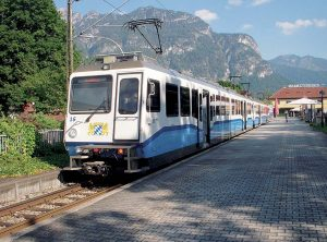 Le Chemin de fer de la Zugspitze en Allemagne. © Christian Allinger / Wikimedia Commons