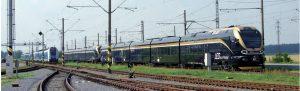 Également aux essais début juillet : Stadler LEO Express. © Patrick laval / Photorail